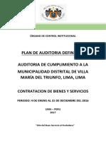 Plan Anual de Control 2017.