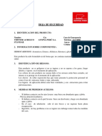 Msds Thinner Acrilico Standar