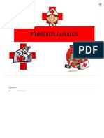 PRIMEROS AUXILIOS SOCIALIZACION