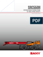Src550h Rough-terrain Crane