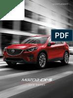 Mazda Cx-5 2017 Guia Rapida