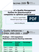 The Design of a Quality Management System for Saidi20031