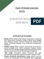 7. Struktur Wilayah Dan Kota
