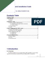User's Guide for ADSL2110-EHR V7.20+