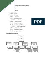 6. Plan de Organización y Recursos Humanos