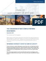 The Conundrum of New Complex Refining Investment - Sept 16 2015
