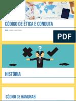 Código de Ética e Conduta - Apresentação