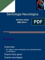 SEMIOLOGIA - SEMIOLOGIA NEUROLOGICA