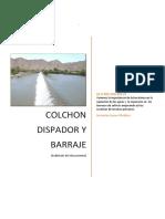 Informe 2 Colchon Disipador