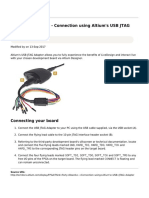 Online Documentation for Altium Products - Third Party Boards - Connection Using Altium's USB JTAG Adapter - 2017-09-13