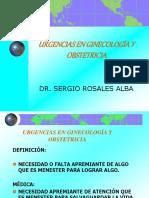 Urgencias en Ginecologia y Obstetricia...