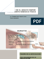 bursitis en el adulto mayor
