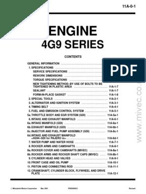 4G9x_Engine_Manual pdf | Throttle | Ignition System