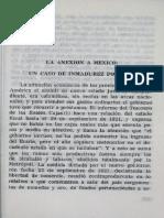 la anexion a mexico un caso de inmadurez politica