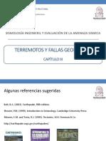 Terremotos y Fallas Geológicas