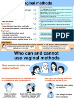 18 Vaginal Methods