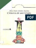 René Kaës y Didier Anzieu - Crónica de un grupo.pdf