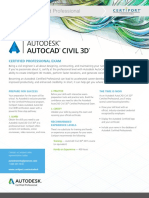 Acp Autocad Civil3d