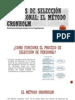 Métodos de Selección de Personal - Assesment Centers