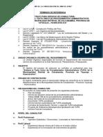 TdR Consultoria TUPA - MDC