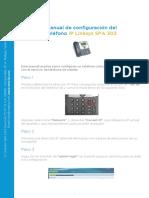 Manual SPA 303