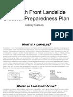 disaster prepardness plan