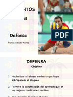 Técnica - Defensa