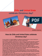 How Do Chile and United State Celebrate Christmas