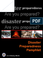 Disaster Preparedness Pamphlet