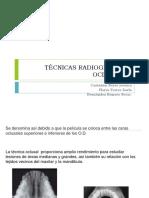 TÉCNICAS RADIOGRÁFICAS OCLUSALES
