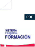Asde Sistema Federal Formacion