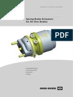 Spring Actuator Service Manual