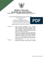 PERMEN KEMENKES Nomor 72 Tahun 2014 (Kemenkes No 72 Th 2014)