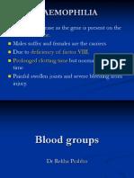 Blood Groups Bpharm 12. 09.11