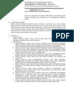 EP 1 Tujuan, Sasaran, Tata Nilai Program Dituangkan Dalam Kerangka Acuan Program