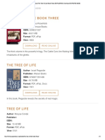 The Tree of Life Book List