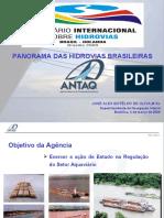 """""""Panorama Das Hidrovias Brasileiras"""" José Alex Botelho de Oliva"""