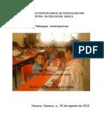 descripción pedagogía