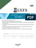 Uefs2017 2 Caderno Prova II Versao 4