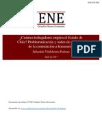 DT005 042017 Valdebenito Cuantos Trabajadores Emplea El Estado de Chile