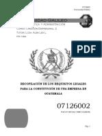 32562971 Constitucion de Empresa