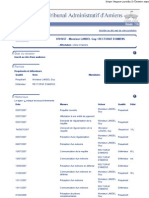 Tribunal administratif - Dossier n°0701657 - 3 juillet 2007
