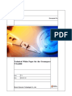 Oceanspace VTL6000 Technical White Paper