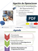 Investigacion de Operaciones-Conceptos Basicos