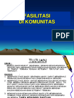 11.b. Fasilitasi Di Komunitas