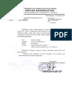 Surat Pelatihan STBM Tanggal 09 Oktober 2017