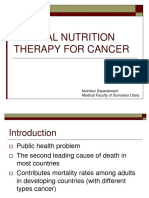 K - 15 Medical Nutrition on Cancer Therapy (Gizi)