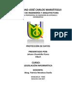 Proteccion de Datos -Info