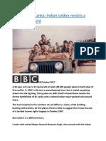 Return to Sri Lanka Indian soldier revisits a brutal battlefield.docx