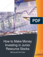 How to Make Money Investing in Junior Resource Stocks